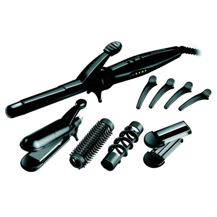 Remington S8670 Hair EnvyS8670 Hair EnvyМультистайлер Remington S8670 Hair Envy. Теперь Вы можете изменить свой вид, чтобы соответствовать Вашему настроению. Варианты бесконечны - прямые, вьющиеся, объемные - с этим мультистайлером вы можете стать суперзвездой. И это невероятно удобно, т.к. он обладает всеми профессиональными качествами и характеристиками настоящих салонных приборов для укладки. Линия Remington Style Inspirations Для тех, кто следит за модой и, вдохновляясь последними тенденциями, любит экспериментировать над своим образом. В моделях данной линии высокое качество сочетается с современным дизайном, включающим в себя дополнительные оригинальные функции, которые помогут вам всегда быть на пике моды. Гладкие и сияющие пряди Высококачественное покрытие Ceramic Teflon Tourmaline, которое наносится на поверхность щипцов для завивки, выпрямителей и щипцов для гофрирования, обеспечивает тройную защиту ваших волос от повреждения благодаря равномерному распределению тепла и...
