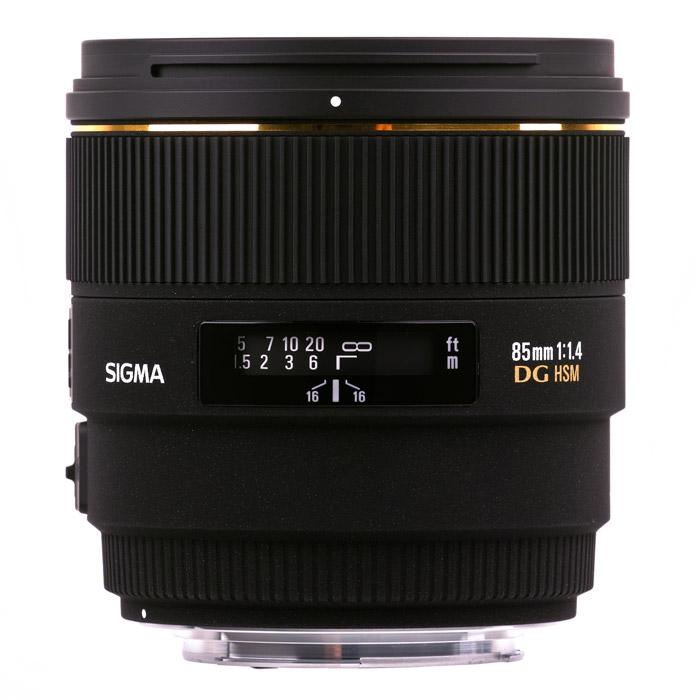 Sigma AF 85mm F1.4 EX DG HSM, Canon