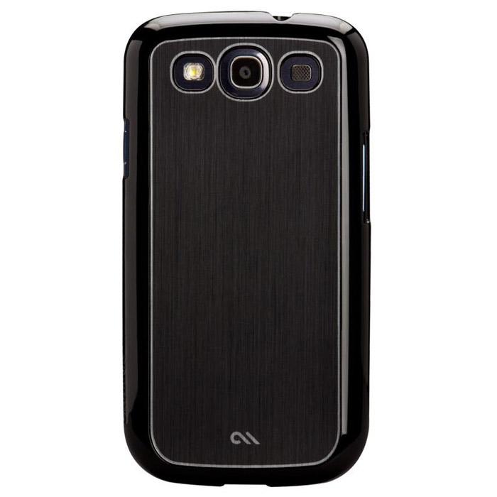 Case-Mate Barely There Aluminium для Samsung Galaxy SIII, Black (CM021202)