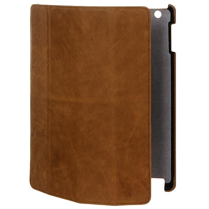 Melkco Slim Cover для new iPad, Brown