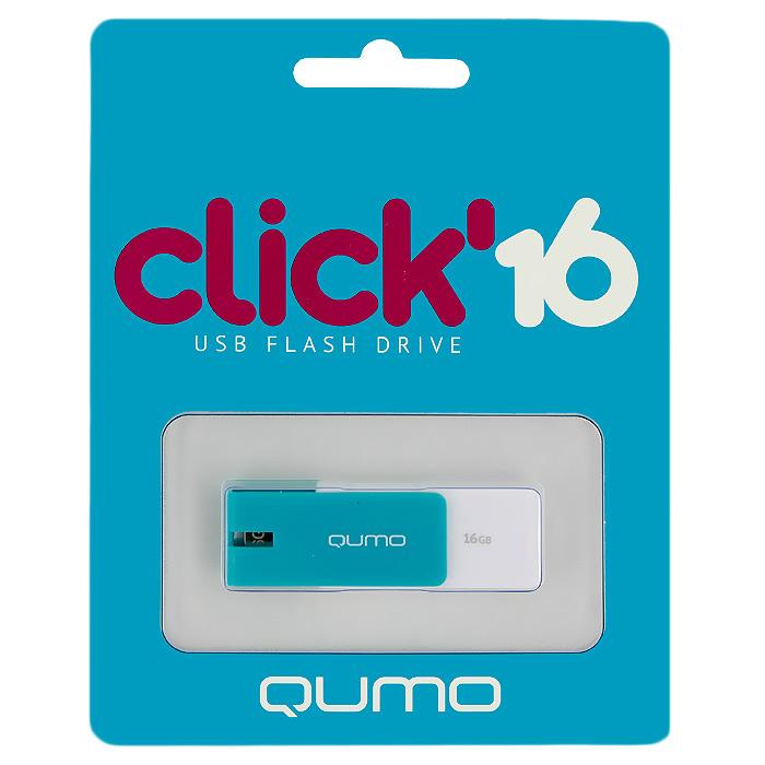 QUMO Click 16GB, Azure