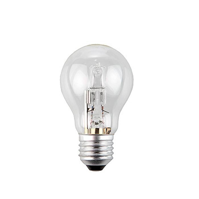 ЭРА Hal-A55-50W-230V-E27-CLC0038549ЭРА Hal-A55-50W-230V-E27-CL относится к линейке галогенных ламп, выполненных в колбах, повторяющиx стандартные лампы накаливания, но при этом по энергосберегающей технологии. Это отличная альтернатива привычным лампам накаливания, благодаря меньшему потреблению электроэнергии и гораздо большему сроку службы.