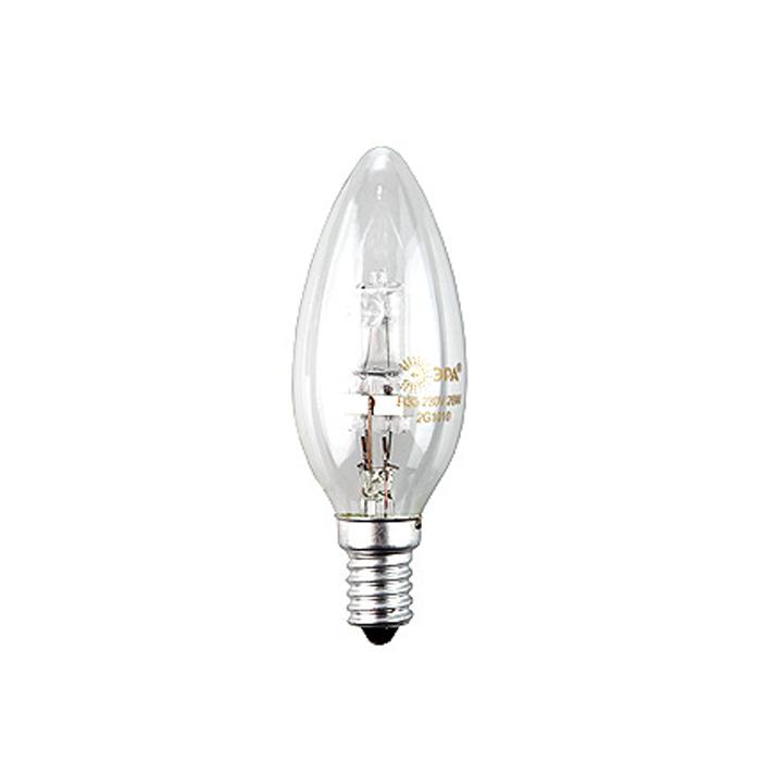 ЭРА Hal-B35-42W-230V-E14-CLC0038551ЭРА Hal-B35-42W-230V-E14-CL относится к линейке галогенных ламп, выполненных в колбах, повторяющих стандартные лампы накаливания, но при этом по энергосберегающей технологии. Это отличная альтернатива привычным лампам накаливания, благодаря меньшему потреблению электроэнергии и гораздо большему сроку службы.
