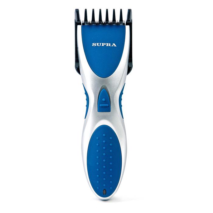 Supra HCS-202, Blue машинка для стрижки волосHCS-202 blueМашинка для стрижки Supra HCS-202 - Ваш личный парикмахер, позволяет за небольшое время подровнять волосы на нужную длину. Мотор с пониженным уровнем шума, лезвия из высококачественной стали - ещё одно преимущество данной машинки. Специально для парикмахеров в комплекте ножницы и расческа.