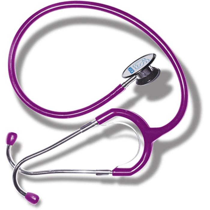 CS Меdica CS 417 стетофонендоскоп, Violet000 000 00047VLCS Меdica CS 417 стетофонендоскоп, который работает в одном из двух положений головки. Переключение прибора на работу с диафрагмой (функция фонендоскопа) или с коолколообразной чашечкой (функция стетоскопа) осуществляется поворотом головки на 180 градусов до щелчка. Большая и чувствительная диафрагма обеспечивает высокую разрешающую способность при аускультации сердечно-сосудистой системы, органов дыхания, а также внутренних органов брюшной полости.