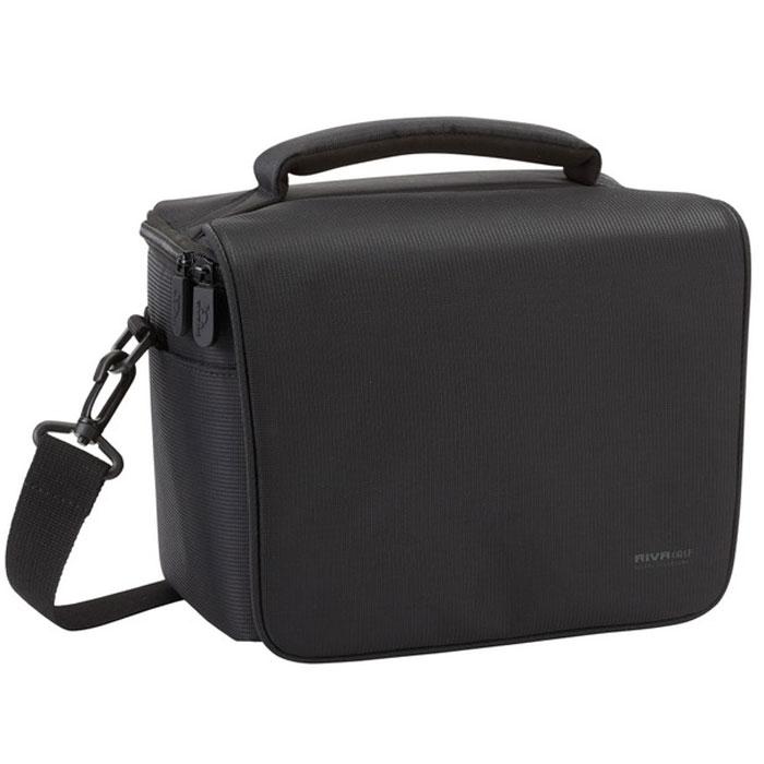 Riva 7303 (PS) SLR Camera Bag, Black сумка для фотокамеры