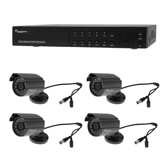 Video Control VC-4SD5A комплект видеонаблюдения