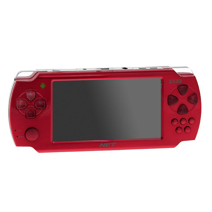 Портативная игровая консоль EXEQ NET (красная)