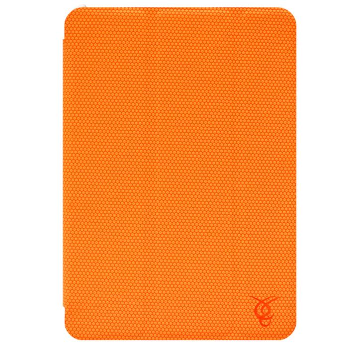 Vivacase Smart LuXus чехол для iPad Mini, Orange (VAP-AC00307-or)VAP-AC00307-orКачественный чехол Viva Smart LuXus для iPad mini защищает Ваш планшетный компьютер с двух сторон, переводит в его спящий режим при закрытии, а также может быть использован как подставка. Заднюю часть планшета защищает пластиковый каркас, который плотно защелкивается, оставляя открытыми камеру, динамики и кнопки управления планшетом. Верхняя крышка - обтянутые мягкой тканью магнитные пластины, которые переводят планшет в спящий режим при закрытии. Они же складываются в подставку, используя которую планшет можно установить в удобное положение на столе для просмотра видео или чтения. Внутри устройство крепится с помощью каркаса X-back изготовленного из плотной резины. Внешняя поверхность чехла полностью покрыта резиновой накладкой с протектором. Благодаря ей планшет не скользит на гладких поверхностях и надежно лежит в руках. Он надежно защищает планшет от появления царапин и при этом практически не увеличивает размеров самого устройства.