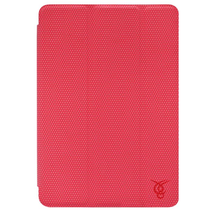 Vivacase Smart LuXus чехол для iPad Mini, Pink (VAP-AC00307-p)VAP-AC00307-pКачественный чехол Viva Smart LuXus для iPad mini защищает Ваш планшетный компьютер с двух сторон, переводит в его спящий режим при закрытии, а также может быть использован как подставка. Заднюю часть планшета защищает пластиковый каркас, который плотно защелкивается, оставляя открытыми камеру, динамики и кнопки управления планшетом. Верхняя крышка - обтянутые мягкой тканью магнитные пластины, которые переводят планшет в спящий режим при закрытии. Они же складываются в подставку, используя которую планшет можно установить в удобное положение на столе для просмотра видео или чтения. Внутри устройство крепится с помощью каркаса X-back изготовленного из плотной резины. Внешняя поверхность чехла полностью покрыта резиновой накладкой с протектором. Благодаря ей планшет не скользит на гладких поверхностях и надежно лежит в руках. Он надежно защищает планшет от появления царапин и при этом практически не увеличивает размеров самого устройства.