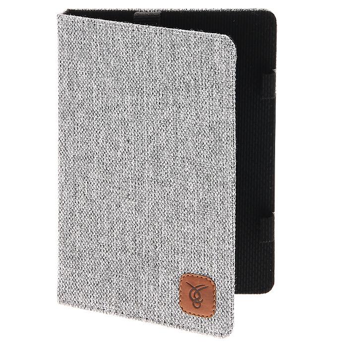 Vivacase жаккардовая чехол-обложка для PocketBook 613/611/622, GreyVPB-С611/622ZHAKKARDGRЧехол-обложка Viva в жаккардовом исполнении разработана для Pocketbook 613/611/622 и идеальна для тех, кто в любых условиях желает пользоваться своим гаджетом с комфортом. Чехол надежно защитит устройство от внешних воздействий, попадания грязи и пыли и брызг. Также при ударах и падениях предотвратит образование на корпусе царапин и потертостей. Чехол выполнен из высококачественных материалов и практически не увеличивает размер устройства, при этом сохраняя доступ ко всем разъемам на его корпусе.