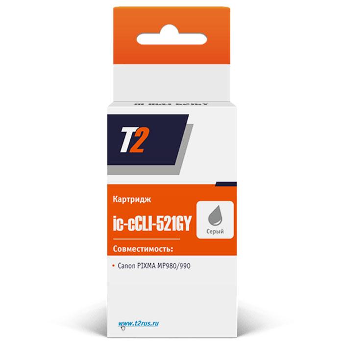 T2 IC-CCLI-521GY картридж для Canon PIXMA MP980/990, Grey
