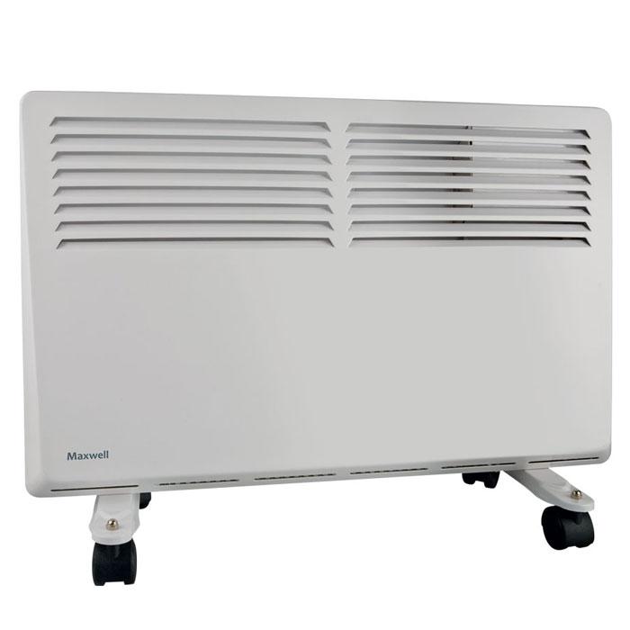 Maxwell MW-3473(W) радиаторMW-3473(W)Мощный конвектор Maxwell MW-3473(W) имеет 3-позиционный регулятор мощности, способен обогревать площадь до 20 кв. Обогреватель оснащен функцией автоматического аварийного отключения. Если прибор начнет перегреваться, то сработает автоматический термопредохранитель.