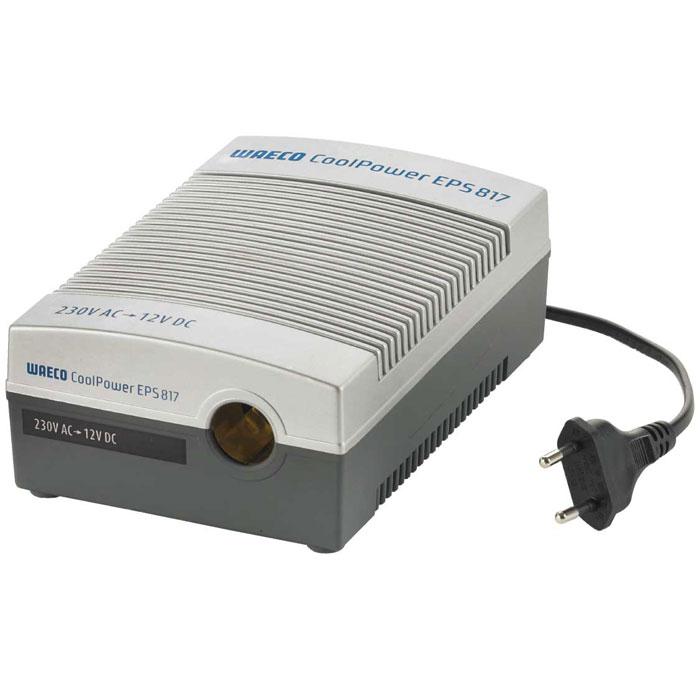 WAECO CoolPower EPS817 адаптерEPS-817UСетевой адаптер WAECO CoolPower EPS817 предназначен для присоединения термоэлектрических холодильников WAECO 12/24 В к сети 230 В. Входное напряжение: 230 В перем. тока, 50 Гц Выходное напряжение: 13 В пост. тока Рабочее напряжение: 12/24 В пост. тока Выходной ток: 6 A Предохранитель: T630 мА 250 В Работает с термоэлектрическими холодильниками WAECO и компрессорными холодильниками WAECO CDF-18/CDF-25