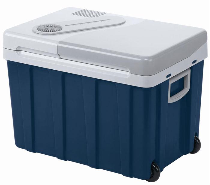 MOBICOOL W40 мобильный холодильник 40 лW40 AC/DCТермоэлектрический мобильный холодильник MOBICOOL W40 предназначен для сохранности продуктов питания и напитков в летний зной. Объем этого бытового прибора равен 40 литрам. Сумка холодильник охлаждает до 18°С ниже окружающей температуры. Высота этого бытового прибора позволяет разместить бутылки объемом 2 литра.