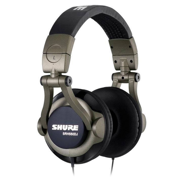 Shure SRH550DJ наушники10102178Наушники Shure SRH550DJ обладают отличным качеством передачи звука. Они подойдут как для голосовых приложений, так и для прослушивания музыки. Благодаря малому весу, компактному оголовью и мягким амбушюрам наушники не вызывают дискомфорта даже после многих часов использования.