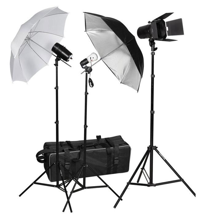 Fancier FAN022 комплект вспышекFAN022Комплект света Fancier FAN022 c двумя вспышками FAN160 и одной ведомой вспышкой SF-38S, тремя стойками, двумя зонтами. Комплект может быть использован любителями и профессиональными фотохудожниками, агентствами, студиями для съемки рекламы.