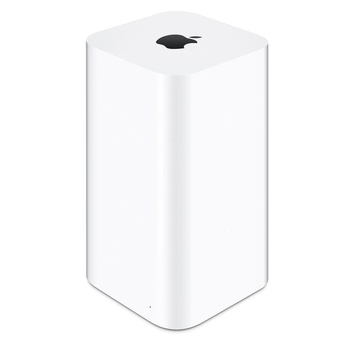 Apple AirPort Time Capsule 3TB (ME182RU/A) Wi-Fi точка доступаME182RU/AApple AirPort Time Capsule — это высокоскоростная базовая станция Wi-Fi и удобное устройство для беспроводного резервного копирования. Автоматическое беспроводное резервное копирование: Устройство AirPort Time Capsule имеет встроенный жесткий диск емкостью 2 ТБ или 3 ТБ, который работает совместно с приложением Time Machine в OS X, создавая идеальное решение для беспроблемного резервного копирования. Проводное подключение не требуется, резервное копирование всех Ваших компьютеров Mac будет выполняться в автоматическом фоновом режиме по беспроводной сети, а все резервные копии будут храниться в одном месте. Технология 802.11ac для развертывания супербыстрой сети Wi-Fi: В основе AirPort Time Capsule лежит технология 802.11ac, которая обеспечивает суперскоростное соединение и сильный сигнал без помех для сетей Wi-Fi2. Поскольку это устройство одновременно работает в диапазонах частот 2,4 ГГц и 5 ГГц, беспроводные устройства смогут выполнять подключение...