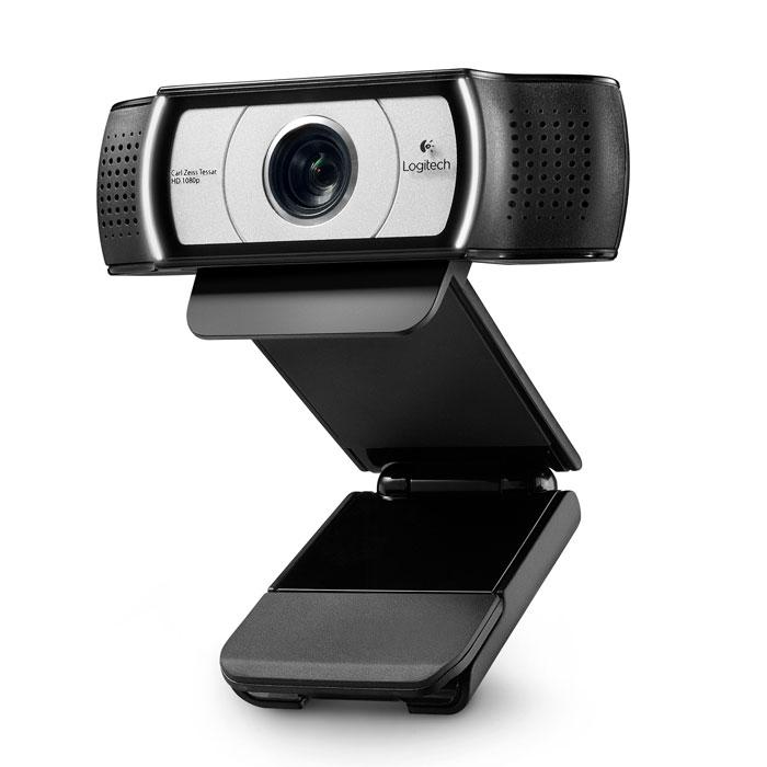 Logitech C930e (960-000972) веб-камера960-000972Веб-камера Logitech C930e высокой четкости. Вы можете записывать захватывающие широкоэкранные видеоролики в формате Full HD 1080p. Пользователю доступно 4-кратное цифровое зуммирование, эффект панорамы и управление наклоном камеры. Конструкция изделия предполагает крепление камеры на монитор.