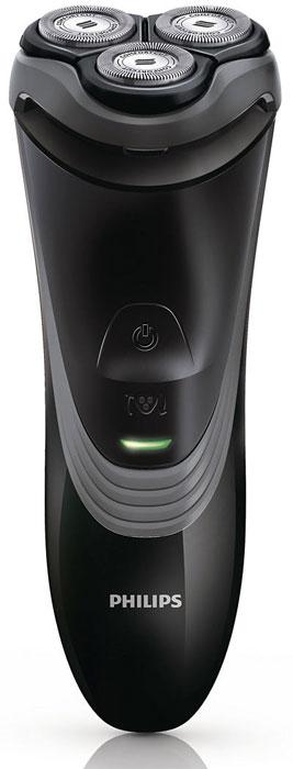 Philips PT727/16 электробритваPT727/16Бритва PowerTouch заряжает энергией по утрам. Увеличенное время автономной работы, моющиеся головки и лезвия ComfortCut - гарантия комфортного бритья. С бритвой PowerTouch привычное бритье по утрам отнимет у вас совсем немного времени. Комфортное бритье и отличный результат Лезвия ComfortCut мягко скользят по коже, обеспечивая чистое, гладкое бритье Система Flex & Float повторяет контуры лица и шеи Самый быстрый способ закончить утренние сборы Простая очистка под струей воды Светодиодный дисплей Энергоэффективная, мощная литий-ионная батарея позволяет реже заряжать бритву 8-часовой зарядки хватит на более чем на 45 минут работы, то есть около 15 сеансов. А трехминутной зарядки будет достаточно для одного сеанса бритья. Все части бритвы можно мыть под водой