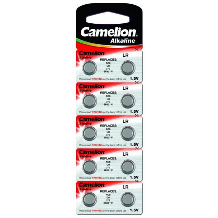 Camelion G13 BL-10 (AG13-BP10, 357A/LR44/A76) батарейка для часов, 10 шт