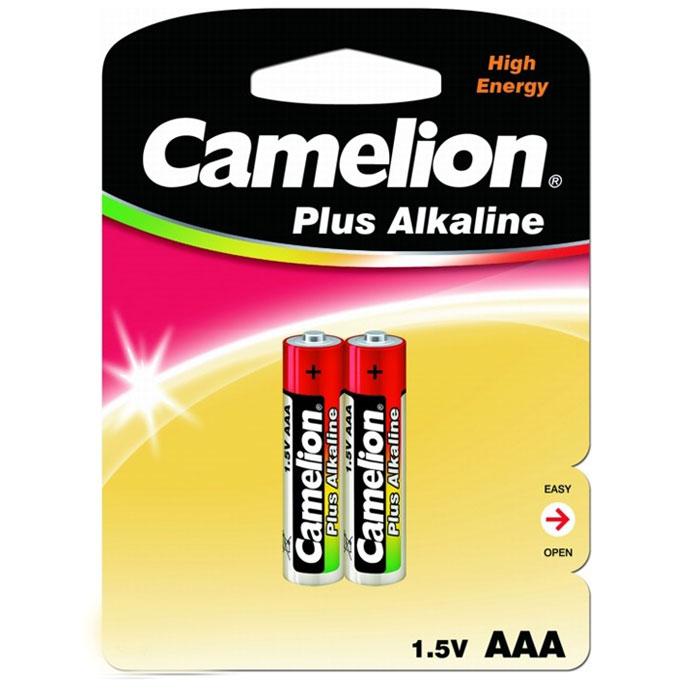 Camelion LR03-BP2 Plus, батарейка,1.5В, 2 шт1651Щелочные алкалиновые батарейки Camelion LR03-BP2 Plus отличаются долгим сроком работы, подходят для -аудио -видео техники, а также другой электроники и бытовых приборов. Сделаны из качественных материалов.