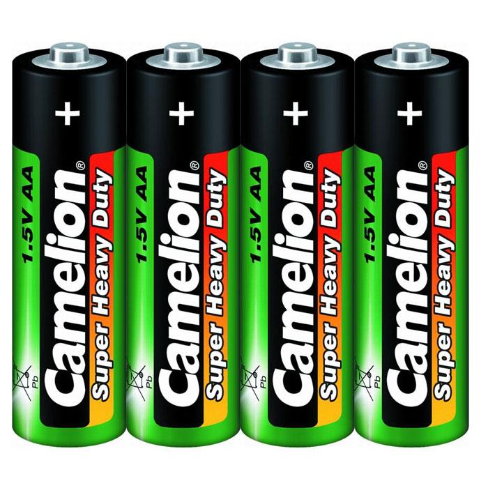 Camelion R6 SR-4 (R6P-SP4G) батарейки 1.5В, 4 шт1660Батареи Camelion R6 SR-4 предназначены для работы в устройствах с низким энергопотреблением - часы, пульты дистанционного управления, радиоприёмники, карманные фонари.
