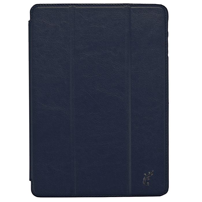 G-case Slim Premium чехол для Samsung Galaxy Note 10.1 2014, Dark Blue GG-217