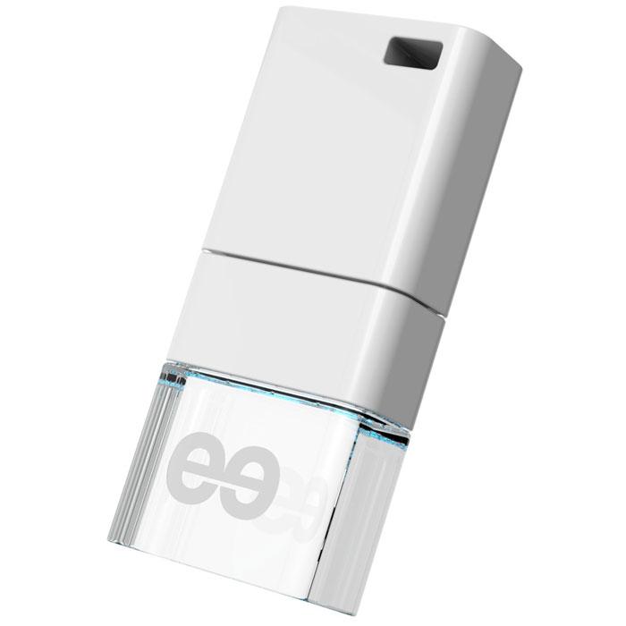 Leef ICE 32GB, White USB-накопительLFICE-032WHRLeef ICE разрабатывался как самый стильный флеш накопитель. Для достижения требуемого эффекта при производстве используется метакриловая смола, которая позволяет создать кристально чистый блеск льдинки, преломляющей солнечный свет. Leef ICE обладает ударопрочными свойствами, а также пыле-и влагостойкая, что позволяет защитить ваши воспоминания от любых испытаний. Системные требования: Windows 8, Windows 7, Windows XP (SP3), Windows Vista (SP1, SP2), Apple Mac OS X