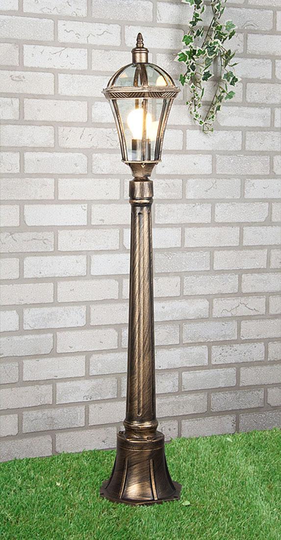 Уличный светильник Elektrostandard Capella F черное золото  цены