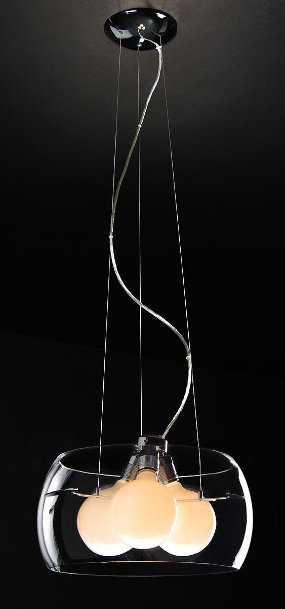 Подвесной светильник ST-LUCE SL512.113.03SL512.113.03хром, E27 3*100W. Максимальная площадь помещения: 22 м2. Минимальная высота: 45 см. Максимальная высота: 130 см. Диаметр плафона: 40 см.