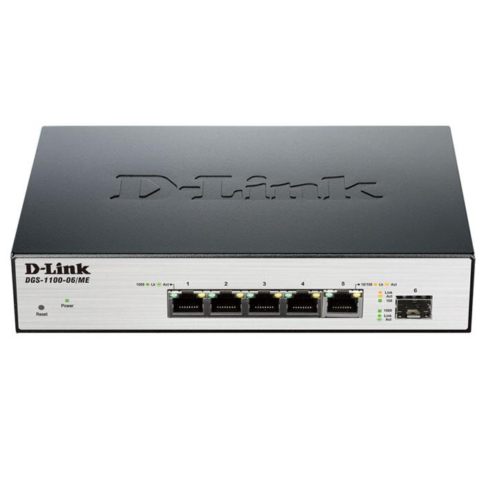 D-Link DGS-1100-06/ME/A1B коммутатор