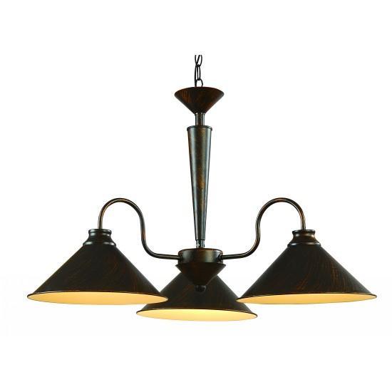 Подвесной светильник ARTELamp Cone A9330LM 3BRA9330LM-3BR