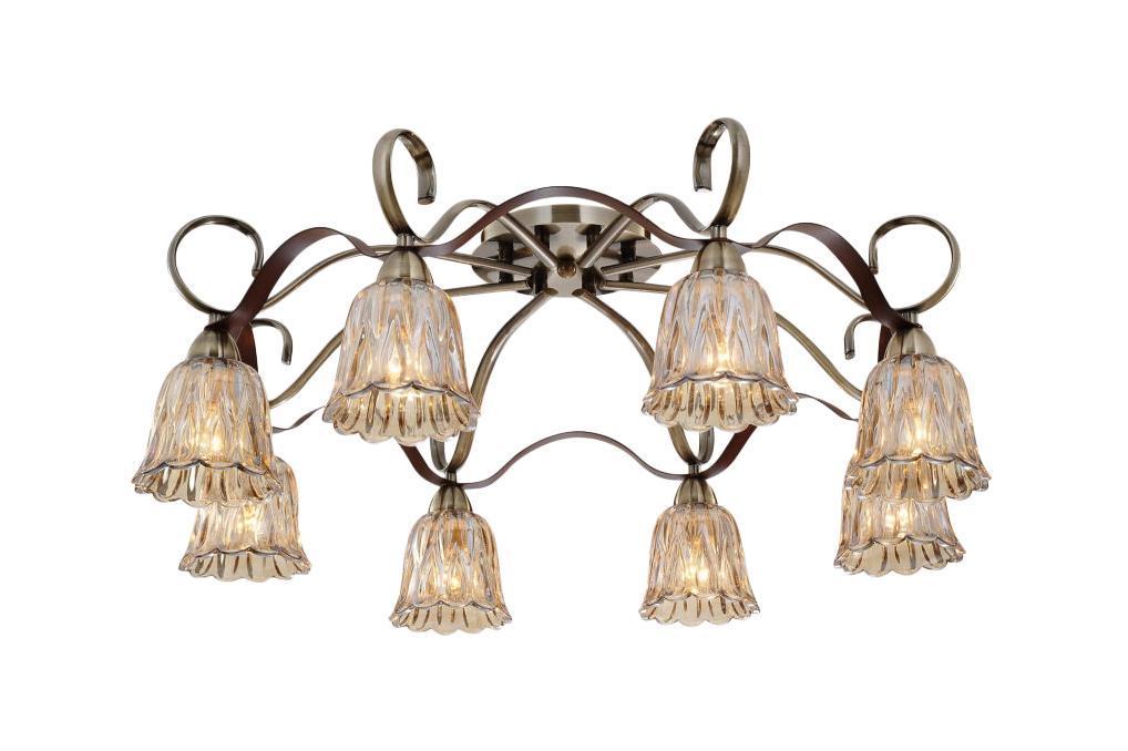 Потолочный светильник ST Luce SL324 302 08SL324 302 08Жизнь современного человека не представляется возможной без света, а роскошную, элегантную комнату обязательно должны украшать модные и стильные светильники. При помощи различных источников света можно выразительно и ярко подчеркнуть выигрышные элементы дизайнерского оформления комнаты или же, наоборот, затемнить и скрыть какие-либо детали. Кроме того, точечные светильники создадут особую атмосферу и настроение в интерьере.