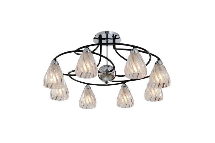 Потолочный светильник ST Luce SL329 142 08SL329 142 08Жизнь современного человека не представляется возможной без света, а роскошную, элегантную комнату обязательно должны украшать модные и стильные светильники. При помощи различных источников света можно выразительно и ярко подчеркнуть выигрышные элементы дизайнерского оформления комнаты или же, наоборот, затемнить и скрыть какие-либо детали. Кроме того, точечные светильники создадут особую атмосферу и настроение в интерьере.