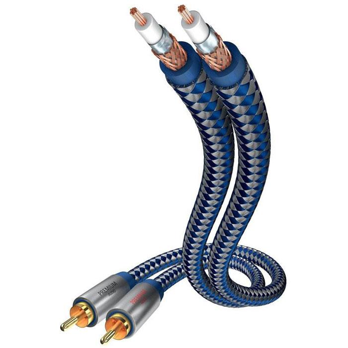 Inakustik Premium Audio аудиокабель RCA, 0,75 м (00404007)4001985507788Аудиокабель Inakustik Premium Audio гарантирует качественную передачу аудиосигнала, так как его жилы изготовлены из высокоочищенной бескислородной меди. Двойное экранирование надежно защищает от помех. Двойная моноструктура кабеля обеспечивает оптимальное разделение звука на каналы Прочные металлические штекеры Проводник: высокоочищенная бескислородная медь Позолоченные разъемы (24к) Диаметр кабеля: 6 мм