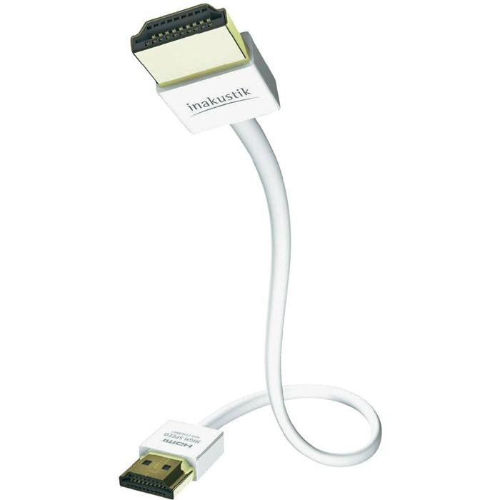 Inakustik Premium XS кабель HDMI, 5 м (004246105)4001985510740Inakustik Premium XS - это высокоскоростной HDMI кабель c Ethernet-каналом, который позволяет подключать аудио/видео ресиверы, DVD/Blu-ray проигрыватели, игровые консоли к телевизорам или проекторам. Благодаря компактному дизайну кабель имеет небольшие размеры и удобен для подключения. Технология Audio Return Channel (реверсивный звуковой канал) позволяет телевизору через единственный HDMI кабель передавать аудио данные на аудио/видео ресивер, предоставляя пользователю дополнительную гибкость и избавляя его от необходимости использовать дополнительные аудиоподключения. Жилы кабеля имеют тройное экранирование, а позолоченные разъемы обеспечивают передачу данных без помех. В кабелях длиной 3 и 5 метров в разъемы установлен специальный чип, который гарантирует высокое качество производительности.