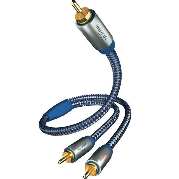 Inakustik Premium Y-Sub сабвуферный кабель RCA, 5 м (0040805)4001985507849Сабвуферный кабель Inakustik Premium Y-Sub предназначен для подключения сабвуфера к аудио/видео ресиверу, стереоусилителю или домашнему кинотеатру. Он обеспечивает качественную передачу звука, а двойное экранирование минимизирует внешние помехи.