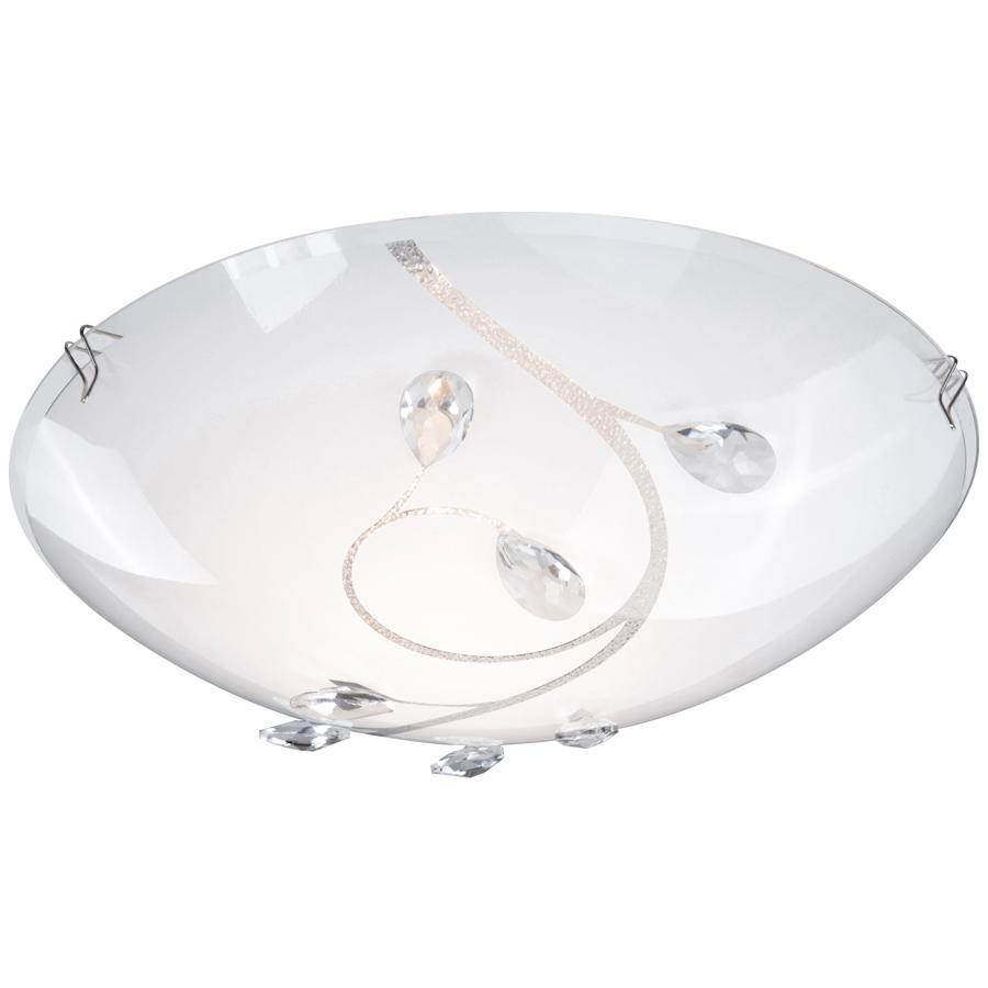 40404-1 Потолочный светильник BURGUNDY40404-1Светильник Globo 40404-1 из серии BURGUNDY – стильный потолочный светильник в стиле модерн. Хромированная основа со стеклянным матовым узорчатым плафоном