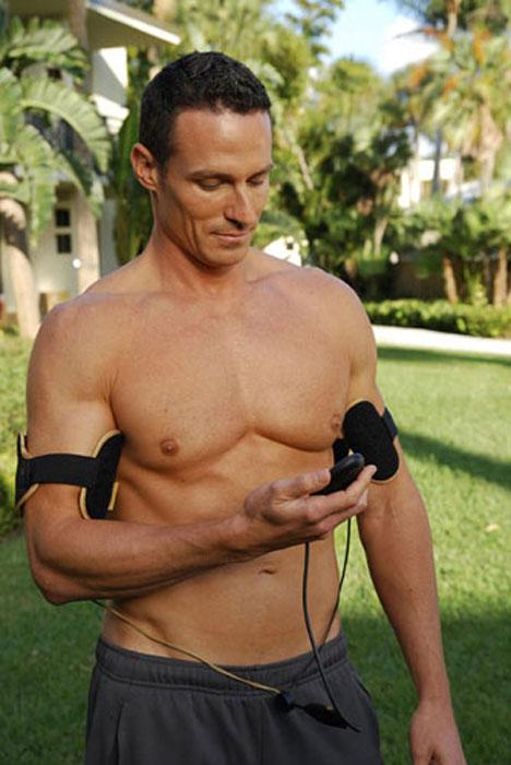 Аксессуар для тренировки мышц рук Slendertone System Arms, мужской, цвет: черный 1701029