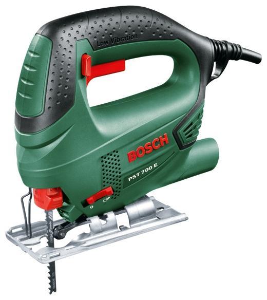 Электролобзик Bosch PST 700 E  электролобзик ручной pst 700 e 500 вт bosch бош
