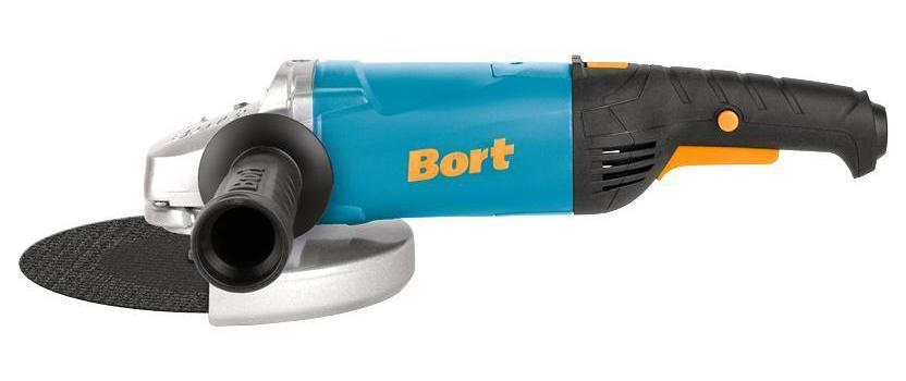 Шлифмашина угловая Bort BWS-2200U-S BWS-2200U-S Blue