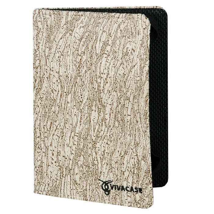 Vivacase текстильная чехол-обложка для PocketBook 613/611/622, Beige VPB-С611/622TEXTILEBE
