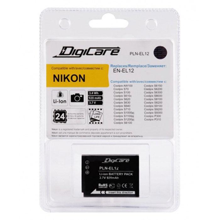 DigiCare PLN-EL12 аккумулятор для Nikon CoolPix
