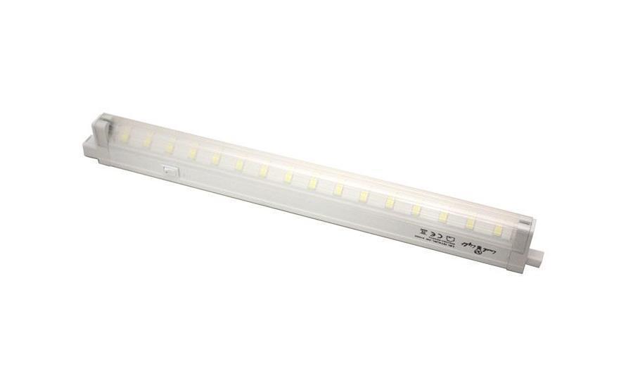 Потолочный светильник Luck & Light 16T4LWL16T4LWLСветодиодный энергосберегающий светильник Luck & Light, изготовленный из пластика, отлично впишется в интерьер Вашего дома. Он прекрасно подойдет для освещения коридоров, лестничных пролетов, кухонь, подсобных помещений, а так же для подсветки полок и внутреннего пространства шкафов (не допускается монтаж светильника около источников теплового излучения, в банях и саунах). Корпус светильника изготовлен из алюминия и оснащен выключателем. Светильник крепится в удобном для вас месте при помощи шурупов и дюбелей, которые входят в комплект. Светодиодный энергосберегающий светильник Luck & Light высокоэкономичен, имеет большой срок службы и низкое потребление электроэнергии. В комплект входит: - светильник - 1 шт; - сетевой кабель с вилкой - 1 шт; - соединительный кабель - 1 шт; - набор для крепежа - 1 шт; - инструкция по монтажу. Характеристики: Материал: пластик. Размер светильника: 35 см х 4 см х 2...