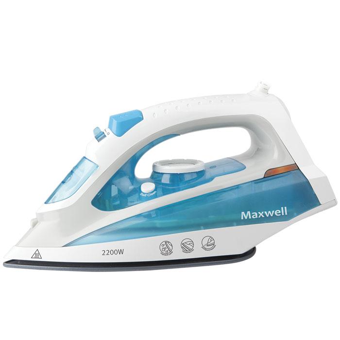 Maxwell MW-3055(В) утюгMW-3055(В)Maxwell MW-3055(В) - качественный и недорогой утюг. Высокая мощность (2200 Вт) обеспечивает скорость нагрева подошвы до заданной температуры за считанные секунды, тем самым повышая эффективность глажения и экономя ваше время. Подошва из нержавеющей стали прочна и долговечна, а также обеспечивает превосходное скольжение на любом типе ткани, тем самым гарантируя высокое качество глажения. Как известно, паровой удар необходим, если требуется разгладить сложные складки на одежде, заломы на ткани, или пересушенное белье. Он позволит легко справиться с любыми видами отделки на одежде, будь то складки, оборки, нашивки. Также вы можете использовать утюг для вертикального отпаривания необходимых вам видов ткани и одежды, установив высокотемпературный режим парообразования. Функция самоочистки помогает произвести очистку в домашних условиях, и тем самым продлить срок службы утюга и содержать его пригодном для работы состоянии. Вместительный резервуар для воды 200 мл позволит вам...