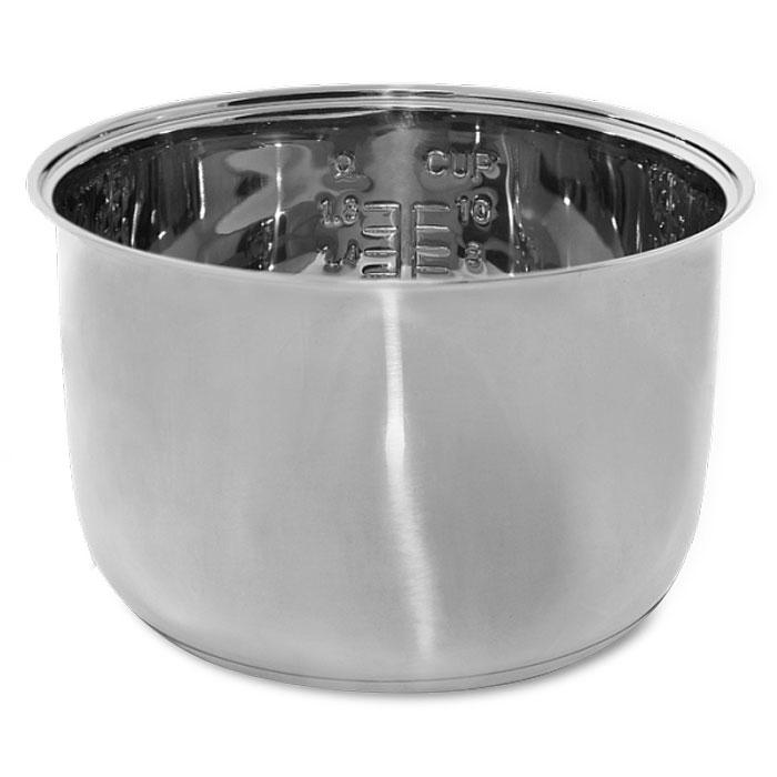 Redmond RB-S500 чаша для мультиваркиRB-S500Чаша Redmond RB-S500 выполнена из высококачественной нержавеющей стали и практически не боится механических повреждений и коррозии. Она имеет объем 5 л и очень удобна как дополнительная чаша к мультиварке Redmond для приготовления супов, в том числе крем-супов и супов-пюре - ведь в такой емкости вы можете взбивать содержимое блендером, совершенно не опасаясь повредить внутреннее покрытие чаши.