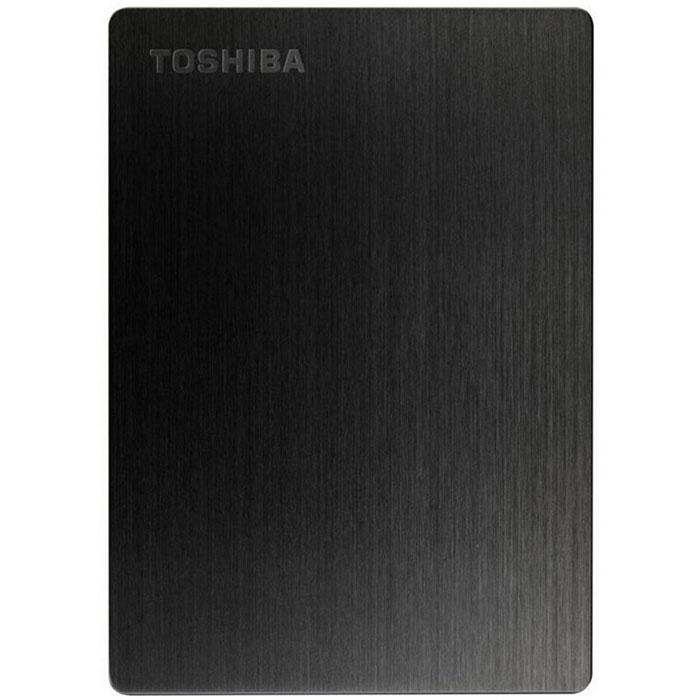 Toshiba Stor.E Slim 1TB, Black внешний накопитель (HDTD210EK3EA)HDTD210EK3EAБлагодаря системе блокировки паролем, имеющейся на внешнем жёстком диске Toshiba Stor.E Slim, вы можете не бояться за сохранность ваших данных. Его элегантный, тонкий и лёгкий дизайн делает его отличным спутником для вашего Mac. Благодаря совместимости с Apple Time Machine вы можете легко создавать резервные копии ваших данных. А благодаря порту USB 3.0 Вы моментально можете перекачивать файлы. Также вы будете иметь возможность удалённого доступа к вашим данным. Файловая система: NTFS Возможность переформатирования в HFS+ для Mac Поддерживаемые ОС: Windows XP / Vista / 7 / 8 / 8.1; Apple Mac OS X 10.6.6 / 10.6.7 / 10.6.8 / 10.7 / 10.8