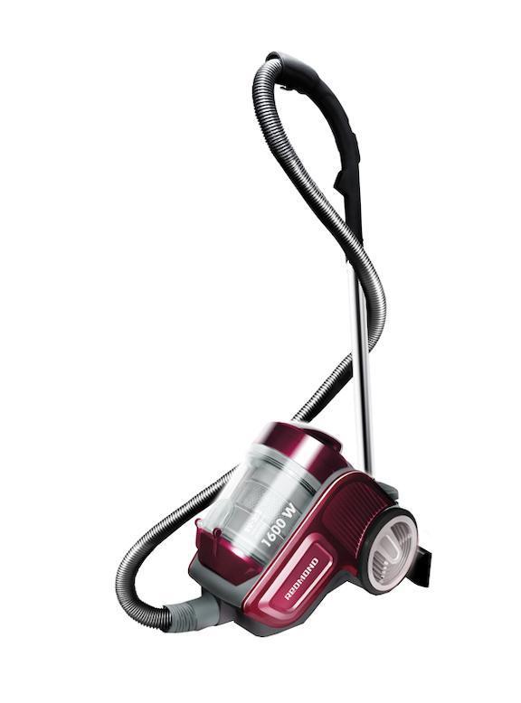 Redmond RV-303, Wine RedRV-303, Wine RedПылесос Redmond RV-303 с циклонным фильтром обеспечит Вам высокую мощность всасывания и максимальную фильтрацию! Фильтр тонкой очистки HEPA Насадки: щетка ковер/пол, турбо-щетка, щелевая насадка, щетка с ворсом Технология двойной циклон Рукоятка с регулятором расхода воздуха Индикатор заполнения пылесборника Ножной переключатель на корпусе Вертикальная парковка трубы всасывания на корпусе пылесоса Плавное включение Поворот шланга на 360 градусов Автосматывание шнура питания Максимальная мощность: 1600 Вт Мощность всасывания: 240 Вт Объём контейнера для пыли: 3 л Радиус действия: 8 м Уровень шума: 77 дБ