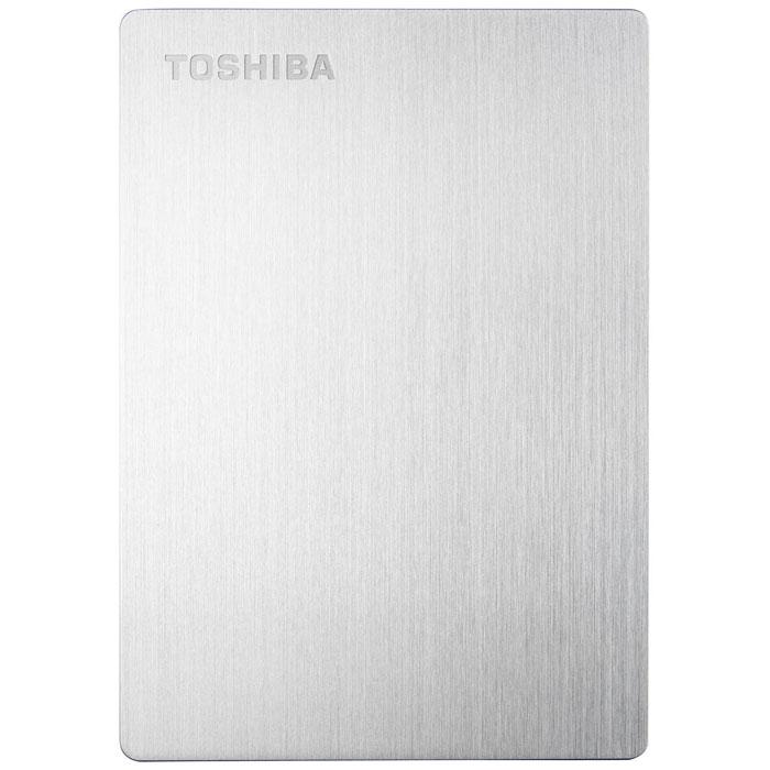 Toshiba Stor.E Slim For Mac 1TB, Silver внешний накопитель (HDTD210ESMEA)HDTD210ESMEAПортативный жесткий диск Toshiba STOR.E SLIM FOR MAC - отличное решение для безопасного хранения и резервного копирования ваших данных. Благодаря своим компактным размерам устройство подходит для использования в качестве переносного накопителя. На диске установлено программное обеспечение NTI Backup Now EZ, предназначенное для автоматического резервного копирования. Передача данных происходит с использованием интерфейса USB 3.0, что делает этот процесс более быстрым. Диск предназначен для использования с компьютерами Mac.